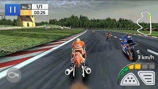 Course Réelle De Moto 3D- Android Game- Moto 3D- Course Réelle screenshot 1