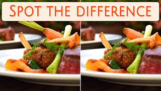 [ Brain games ] Ep.002 Foods_01.meal | Spot the difference | photo puzzles | Healing