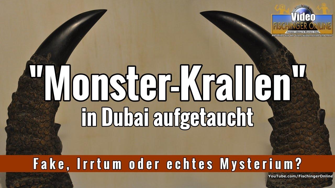 Seltsame Monster-Krallen in Dubai gefunden: Fake, Irrtum oder echtes ...