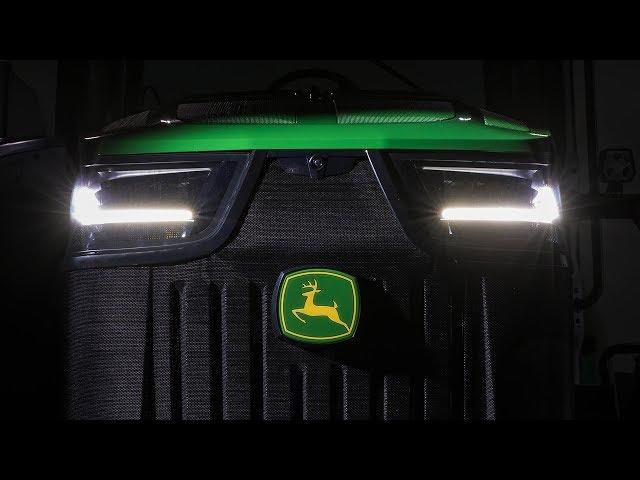 I nuovi trattori 7R/8R John Deere - Esecuzione perfetta - Design