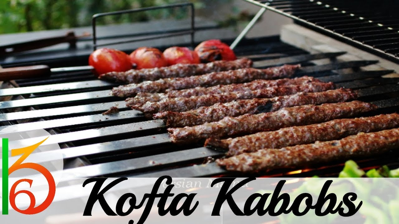 homemade bbq kofta kabobs (arab restaurant style) - youtube