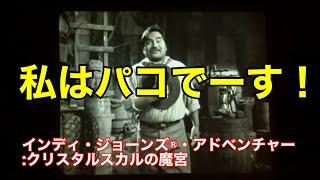 クリスタルスカルの魔宮へようこそ!私はパコでーす!