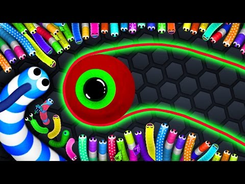 Slither.io - BEST KING SNAKE vs. 8700 SNAKES! // Epic Slitherio Gameplay (Slitherio Funny Moments)