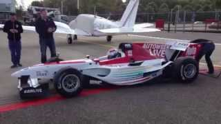 Jos Verstappen - FA1 race car - Lelystad Airport (warm-up)
