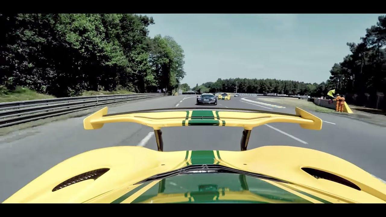 Victory Lap at Le Mans