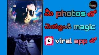 How to edit videos in pitu app telugu hindi free editing tools #telugutechrockz
