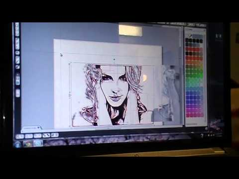 Tracing photos with your Silhouette