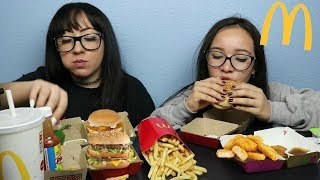 MCDONALDS BIG MACS, CHICKEN NUGGETS, FILET O FISH, FRIES MUKBANG | EATING SHOW
