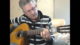 Apprendre la guitare  Adieu monsieur le Professeur-Hugues Aufray