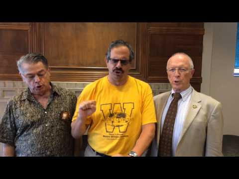Faculty Sing WMU Fight Song