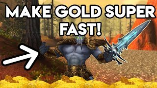 World Of Warcraft Gold Farm How To Make Gold Super Fast
