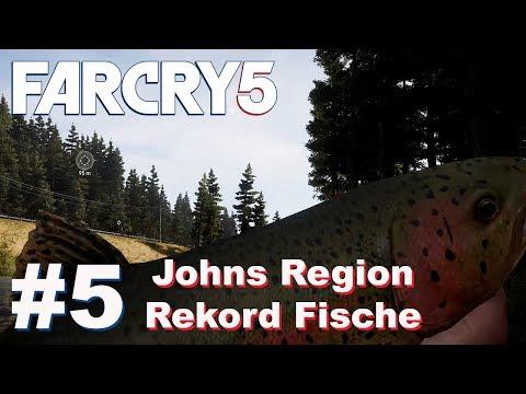 Johns Region Rekorde Forellen Schwer / Hard Spots Fishing Guide #5   Far Cry 5   Deutsch