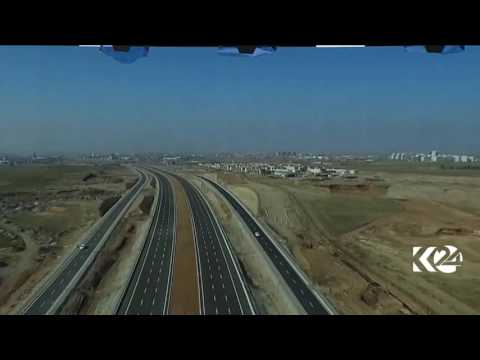 120-meter highway in Erbil, Kurdistan Region