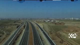 120-meter highway in Erbil, Kurdistan Region