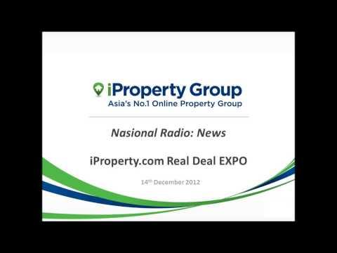 Nasional Radio News 14/12/2012: iProperty.com Real Deal EXPO