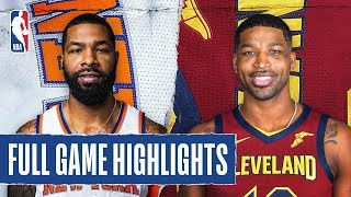KNICKS at CAVALIERS | FULL GAME HIGHLIGHTS | January 20, 2020
