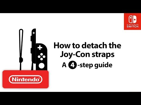 Nintendo Switch How-To Series: How to Detach the Joy-Con Straps