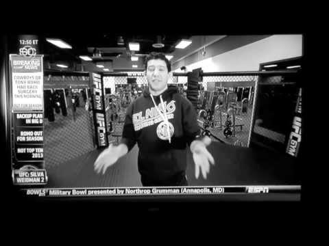 "Gilbert ""El Niño"" Melendez Visits The UFC Gym in Las Vegas; Featured On ESPN!!"