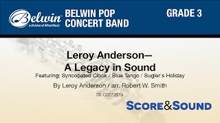 Скачать Leroy Anderson A Legacy In Sound Arr Robert W Smith Score Sound