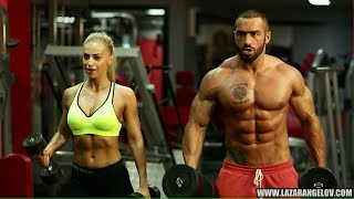 Repeat youtube video Lazar Angelov & Yanita #BeautyAndTheBeast Workout