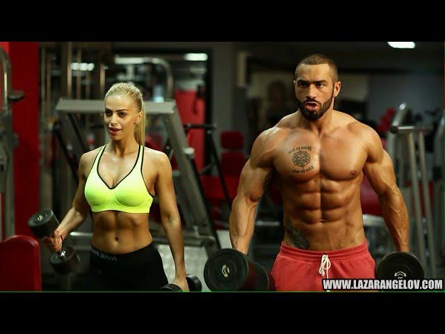 Lazar Angelov & Yanita #BeautyAndTheBeast Workout