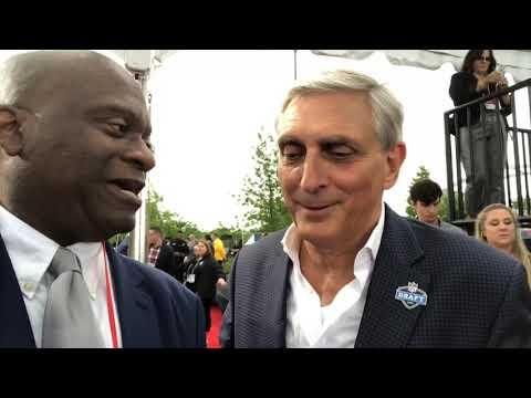 Butch Spyridon Nashville CVB CEO Interview At 2019 NFL Draft Red Carpet