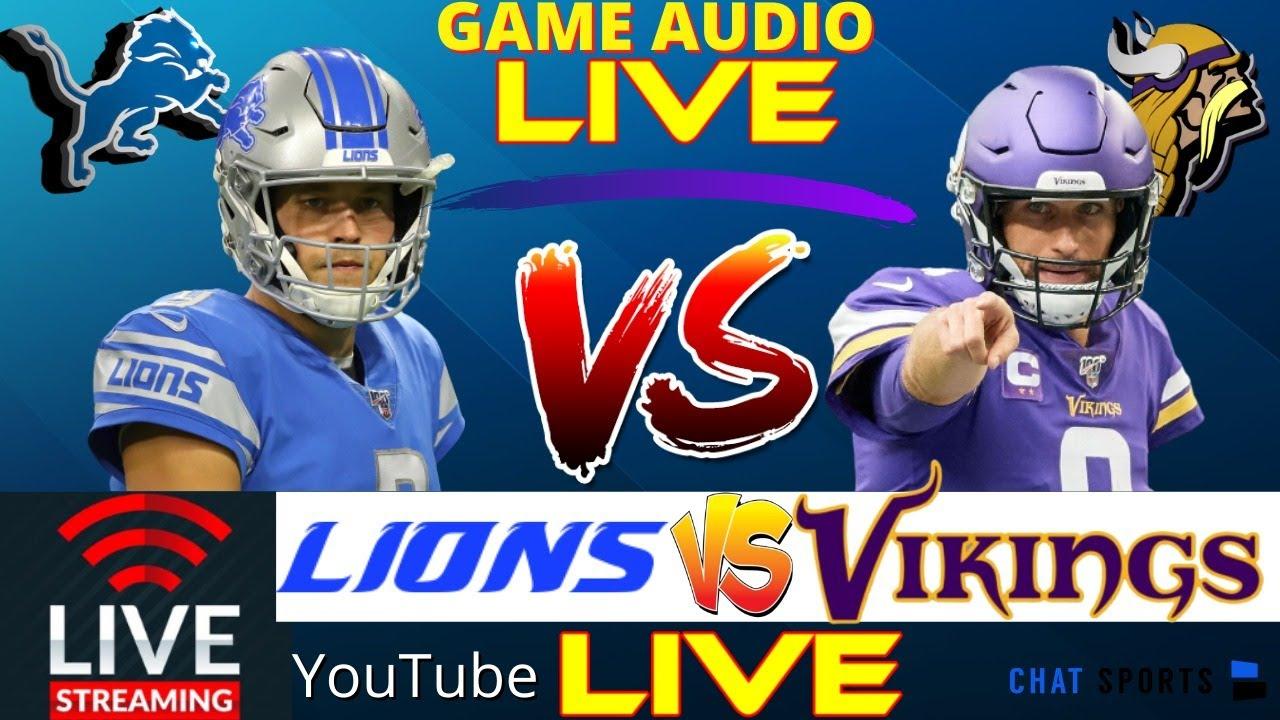 Lions vs. Vikings Live Score Updates