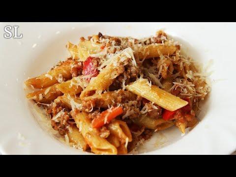 Блюдо с Мужским Характером! Макароны По-Васильевски 😂 Рецепт от Мужа