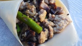 Turkey Stir-fry Paleo Wrap
