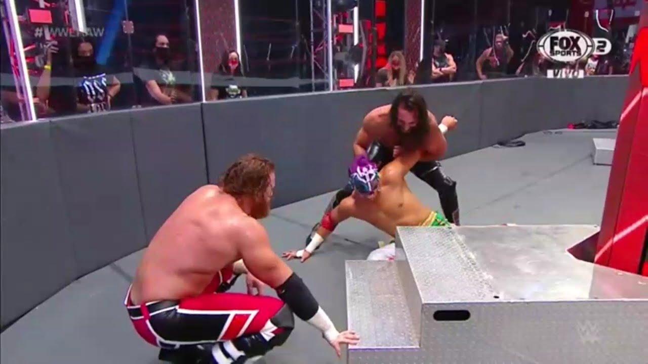 Download Seth Rollins & Murphy atacan a Humberto Carrillo - WWE Raw 29/06/2020 (En Español)