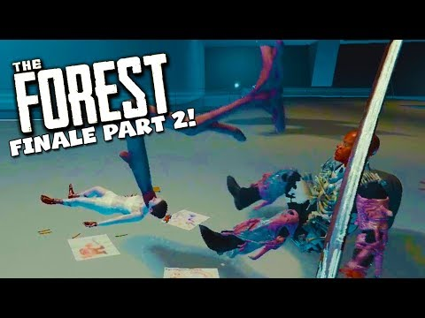 BOSS FIGHT! - The Forest Ending Part 2!  (Season 2 Episode 27)