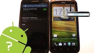 Android-Smartphone als mobilen WLAN-Router nutzen - Tipps und Tricks - android-videos.de