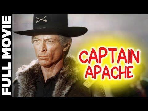 Captain Apache | Blockbuster Action Movie | Lee Van Cleef, Carroll Baker | Anglo-Spanish Film