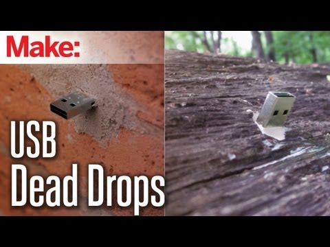 Make a USB dead drop