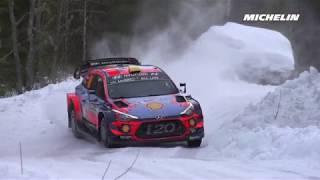 Shakedown - 2019 WRC Rally Sweden - Michelin Motorsport