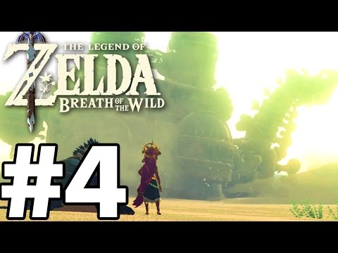 BOSS FIGHT Divine Beast VAH NABORIS - The Legend Of Zelda: Breath Of The Wild - Gameplay Part 4