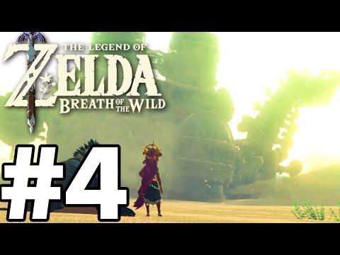 BOSS FIGHT Divine Beast VAH NABORIS - The Legend Of Zelda: Breath Of The Wild - Gameplay Part 4