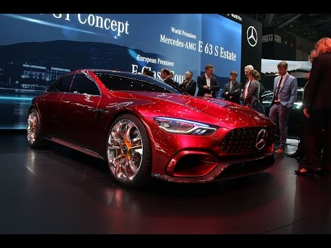 Mercedes-AMG GT Concept First Look - 2017 Geneva Motor Show