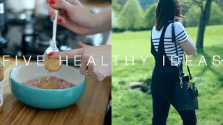 Five Healthy Ideas To Do Today | AD | ViviannaDoesLifeStuff