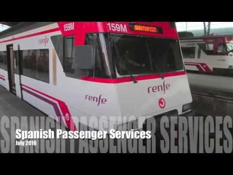 Spainish Passenger Railway Services (Bilbao/Santander area)