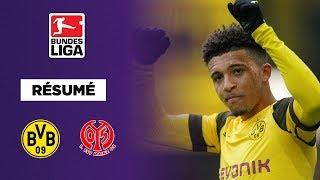 Résumé : Dortmund s'en sort par miracle contre Mayence