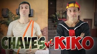 Batalha de rap - Chaves vs Kiko