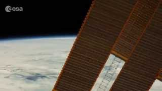 Day and night from space station #EuropeanSpaceAgency