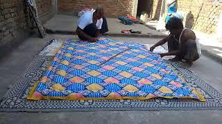 How To Make Quilt Comforter : Apne Haath Se Beautifull Comforter Kaise Banaye HD