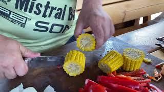 Кованный нож Оберег-2 |Доступный по цене|Обзор на продуктах| Кузница Династия