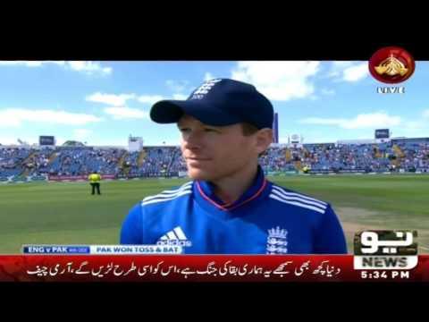 Neo Sports | Toss Pakistan Vs England One Day | Pak Won Toss | 1 September 2016 thumbnail
