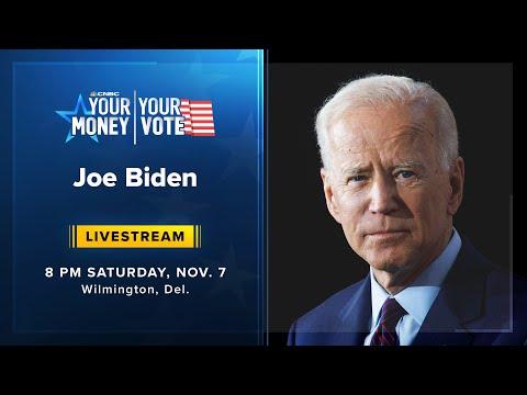 President-elect Joe Biden addresses the nation — 11/7/2020