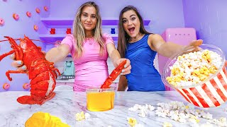 Download Trying My Sister's Weird Pregnancy Cravings + Gender Reveal! Mp3 and Videos