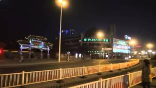 Урумчи ночной 2  Urumqi(Еще одна зарисовка из Урумчи, освещенного многочисленным веселыми огоньками., 2015-02-25T01:38:37.000Z)