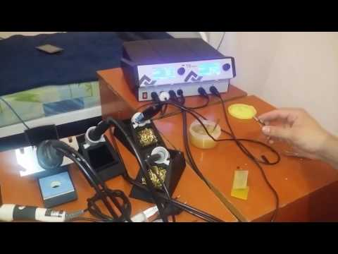 Тест инструментов паяльной станции ERSA